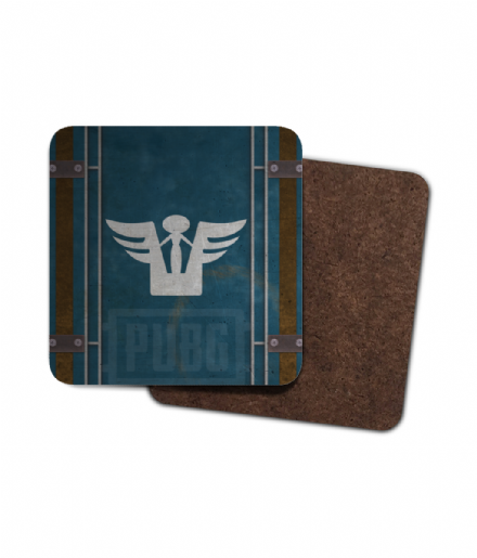 Playerunknowns Battlegrounds PUBG Desperado Crate Single Hardboard Coaster